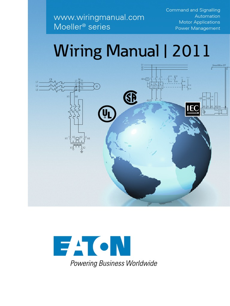 complete wiring manual eaton fuse electrical power inverter rh scribd com klockner moeller wiring manual pdf klockner moeller wiring manual pdf