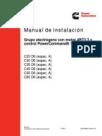 Manual de Instalación C30D6 USA
