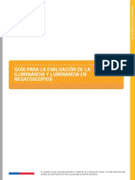 D024-PR-500!02!001 Guía Para La Evaluación de La Iluminancia y Luminancia en Negatoscopio