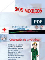 PRIMEROS AUXIXLIOS