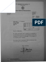 3. UBS Letter in 1982_UBS HQ to Highveld