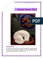 Hora Santa-jueves Santo 2013