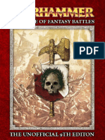 Warhammer - The Game of Fantasy Battles 9th Edition