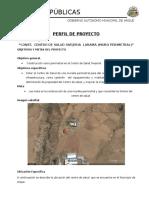 Perfil de Proyecto Muro Perimetral Ovejeria