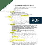 AP U.S History Chapter 3 Outline