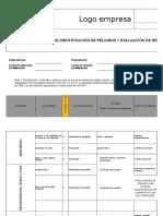3. Matriz de Identificación de Peligros y Evaluación de Riesgos