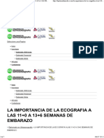 LA IMPORTANCIA DE LA ECOGRAFIA A LAS 11+0 A 13+6 SEMANAS DE EMBARAZO - Diplomadomedico
