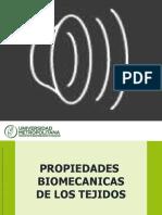 Biomecánica de Los Tejidos.