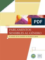Parlamentos sensibles al género. El estado de la cuestión en América Latina.