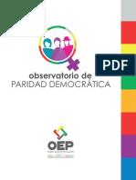 Observatorio de Paridad Democrática