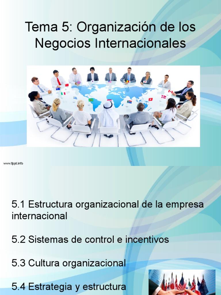 5 Organizacion Negocios Intl 2017 1 2
