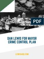 Dan Lewis Crime Plan