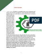 Fuel Oil Production Plastic Waste