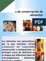 Clase 3 Conservación de Alimentos