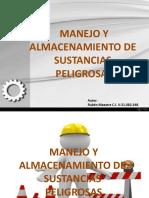 almacenamientodesustanciaspeligrosas-140207034604-phpapp01