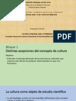 1º Parte - Taller Cultura, Etnicidad, Raza y Patrimonio