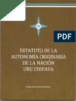 Estatuto de la Autonomía Originaria de la Nación Uru Chipaya