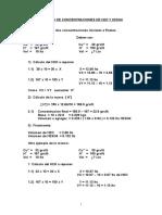 CALCULO DE CONCENTRACIONES DE H2O Y H2SO4.doc