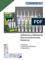WEICON Adhesivos y Selladores Elasticos