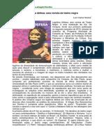Legítima Defesa Uma Revista de Teatro Negro
