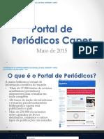 Portal Periódicos CAPES Guia 2015-05-25