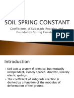 12 Substructure - Soil Spring