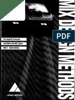 Métodos de Diseño de Mezclas Asfálticas.