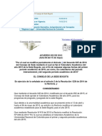 CALENDARIO ACADÉMICO DE LA SEDE PARA EL SEGUNDO SEMESTRE DE 2015.docx