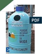 Basurero Botella 2