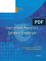 Institutional Repository Software Comparison