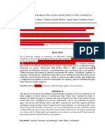 Analisis Microbiologico Para Queso Fresco Tipo Comercial Final