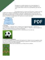 Futbol y Reglas