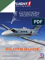 Cessna Citation Mustang for P3D Pilot's Guide