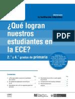 Informe Para La Institución Educativa ECE 2016