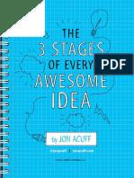 3 Stages Idea Jon Acuff
