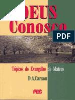 Deus Conosco - Mateus - D. A. Carson.pdf