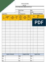 For-pc-002 Registro de Termofusion de Liner