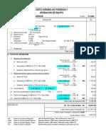 Costo de Operacion y Posesion de Equipos - Agosto 2002