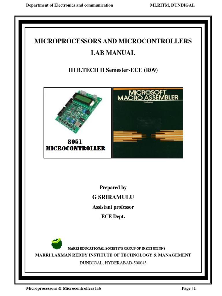 Mpmc lab manual array mpmc manual pdf rh scribd fandeluxe Gallery