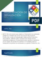 Interpretacion de Señalizacion NFPA 704