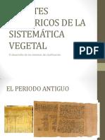 Apuntes Históricos de La Botánica