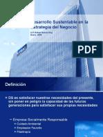 Desarrollo Sustentable IMEF 2008