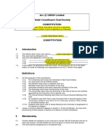 Model Constituent Club Constitution 10-5-13