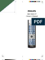 Philips SRU3003-27 Owner's Manual