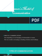 Saussures Model of Communication 2....