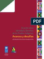 ACUERDO SOBRE IDENTIDAD Y DERECHO DE PUEBLOS INDÍGENAS