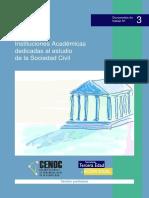 Instacademicas Material de Difusion Para Organizaciones
