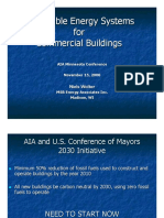 Renewable Energy in Commercial Buildings