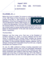 Lee Pue Liong a.k.a. Paul Lee, Petitioner, vs. Chua Pue Chin Lee