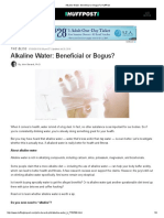 Alkaline Water_ Beneficial or Bogus_ _ HuffPost
